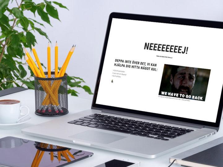 3 st 404-sidor som borde inspirera dig till att skapa en egen!