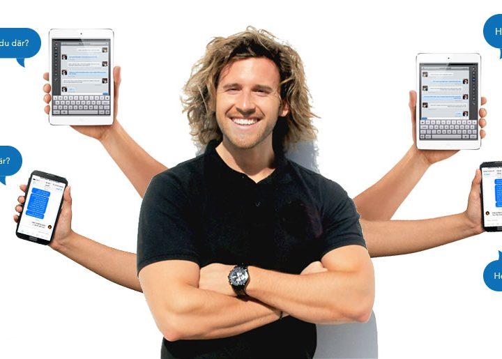Med effektiviserad kommunikation sparar jag tid åt mig och mina kunder!